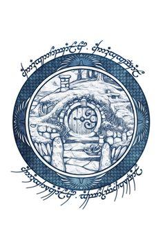 Hobbit door by on Hobbit Tattoo, Tolkien Tattoo, Lotr Tattoo, Le Hobbit Thorin, Hobbit Hole, The Hobbit, Gandalf, Jrr Tolkien, Tatouage Tolkien