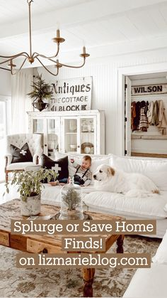 French Country Farmhouse, Farmhouse Decor, Home Living Room, Living Room Decor, Decorating Your Home, Decorating Ideas, Modern Rustic Homes, Dream Rooms, Dupes