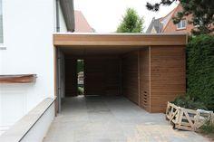 Houten carports - Carport - Aanbouw