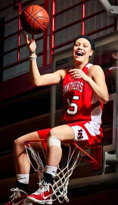 Last season, the Lakeville North girls basketball team was a two-headed monster that rolled to an undefeated season and the Class AAAA state championship. Point guard Rachel Banham ran the perimete… Basketball Senior Pictures, Senior Pics, Basketball Players, The Row, Ronald Mcdonald, Two By Two, Photoshoot, Poses, Photography