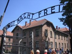 The infamous Auschwitz Concentration Camp - Poland