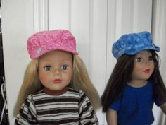Helen Sews 4 Fun  FREE hat pattern for 18 inch AG dolls