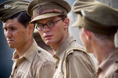 Jeremy Irvine as the young Eric Lomax
