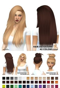 Miss Paraply: Nightcrawler`s hairstyles retextured  - Sims 4 Hairs - http://sims4hairs.com/miss-paraply-nightcrawlers-hairstyles-retextured/