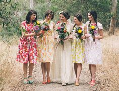 Custom Bridesmaids  -  from: by PastimeClothing on Etsy https://www.etsy.com/no-en/listing/184829267/custom-bridesmaids-from