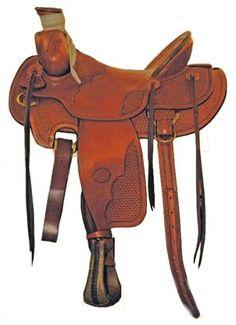 Westernové sedlo BILLY COOK Arbukle rancher | Horseriding.cz: Jezdecké potřeby, jezdecká sedla, jezdecké vybavení, lonžování, deky, sedla, u...