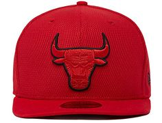 Red Diamond Chicago Bulls 59Fifty Fitted Cap by NEW ERA x NBA