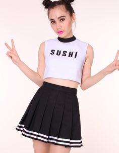 Image of MADE TO ORDER - Team Sushi Cheerleading Set