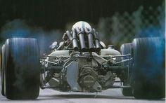 1967 Italian GP, Monza - John SURTEES - Honda RA300/V12 #14 - Honda Racing - WINNER (1:43:45.0) (Ph: f1-history.com) — bij Monza Circuit..