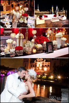 hollywood theme wedding invitations | Real Florida Wedding: Alexis and Joey's Old Hollywood Wedding Theme