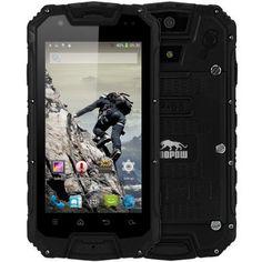 Snopow M9 Android Outdoor Phone Waterproof IP68 4.5'' IPS Screen MTK6589M Quad Core 1GB 8GB 3G WCDMA PTT 4700mAh Battery 8.0MP