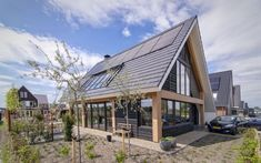 Modern Barn, Modern Farmhouse, Mountain Homes, House 2, Next At Home, Style At Home, Home And Living, Bungalow, House Plans