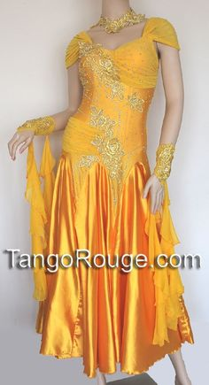 Dance - Ballroom Standard: yellow