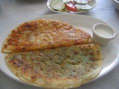 Bolani: Delicious Afghan potato & Scallion turnover - Banana Kuwait Blog | Entertainment | Food | Fashion | Electronics