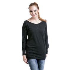 Ladies Wideneck Crewneck - Girlie sweatshirt af Urban Classics - Artikelnr.: 258439 - fra 179,95 kr - EMP Danmark ::: Merchandise ::: Streetwear ::: Modetøj