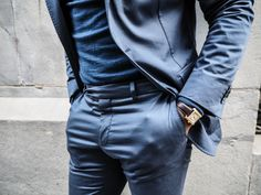 BLUE OBSESSION I Dress, My Outfit, Leather Pants, Blue, Outfits, Dresses, Fashion, Leather Jogger Pants, Vestidos