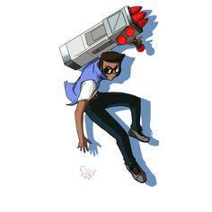 Olá povo, esse aí é o Brock do jogo Brawl Stars. #BrockBrawlStar Fanart, Game Art, Zelda Wii, Star Character, Star Work, Art Memes, Love Drawings, Cool Pictures, Video Games