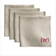 Mark and Graham linen napkins- via hellodallau