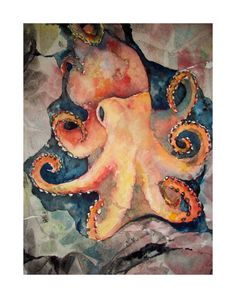 $20 Beautiful watercolor prints & paintings by an artist in San Francisco