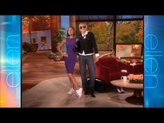 Memorable Moment: Victoria Beckham Swaps Shoes.  This is why I never wear high heels:)