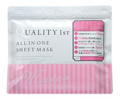 Large capacity face pack all-in-one sheet mask moist 1 bag (50 pieces)