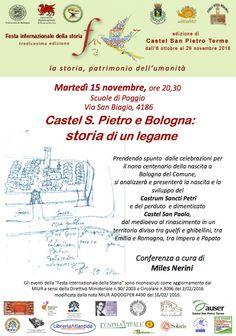 Italia Medievale: Castel S. Pietro e Bologna: storia di un legame