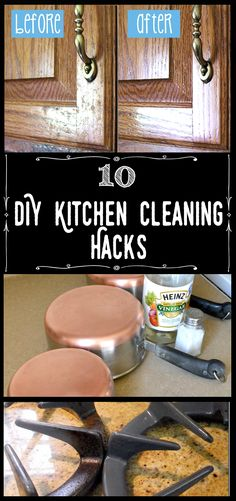 10 DIY Kitchen Cleaning Hacks