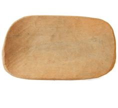 Bread Dough Trencher Wood Bowl Hand Hewn by EclecticVintager