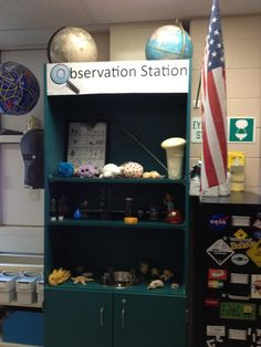 Science Classroom Observation Station For Items You Want Students To See But Not Always