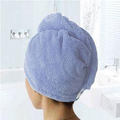 New 2016 1 Piece Microfiber Hair Drying Towel For Lady/Women Magic Drying Turban Towel Spa Salon Towels Bathroom Accessories