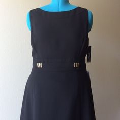 Little Black Dress  HP Tahari Classic Black Dress fully lined perfect for the office or formal event. Tahari Dresses