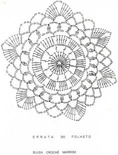 This is technically a crochet diagram but it would be an amazing beaded mandala