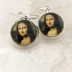 Mona Lisa Earrings Mona Lisa Earrings Leonardo da Vinci da