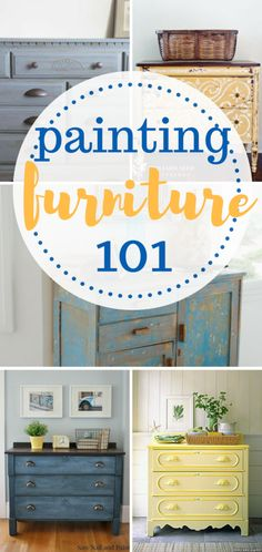 The ultimate guide to hand painting furniture! DIY home, Painting Furniture, How to Paint Furniture, Painting Furniture 101