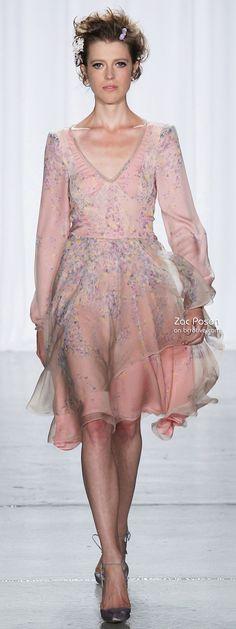 Zac Posen Spring 2014 New York Fashion Week » bcr8tive