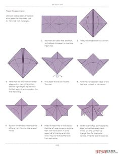 Origami Orchid Flower Folding Instructions | Origami Instruction