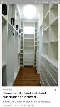 Closet Designs, Bedroom Closets, Walk In Closet, Closet Ideas, Design  Ideas, Searching, Master Bath, Organize, Master Bathroom