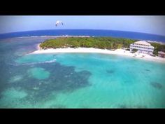 Kiteboarding at the Sweet Spot - Guanaja - Bay Island - Honduras C.A. - YouTube