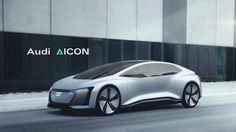 Audi Aicon – die autonome Luxuslimousine