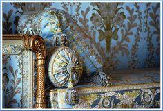 Furniture for Marie Antoinette, Chambre Du Conseil, Versailles Marie Antoinette, Style Français, Chateau Versailles, Interior And Exterior, Interior Design, French Blue, French Style, French Furniture, Baroque Furniture
