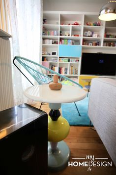MyHomeDesign - Un appartement familial plein de peps ! » MyHomeDesign Table Shuffle - &Tradition
