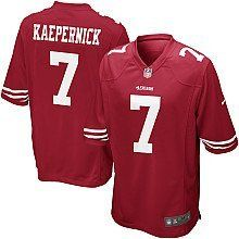 Colin Kapernick Home Jersey: Size - Large by NFL. $69.99. Brand new with tags. Home Jersey. Size: Large. Stitched Name and Numbers. Brand new Colin Kapernick Jersey.  Size: Large Stitched Name and Numbers Home Jersey Brand new with tags