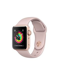 Apple Watch Series 3 38mm Smartwatch (GPS Only, Gold Alum...