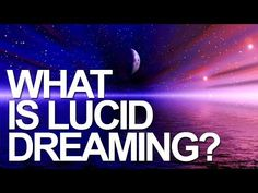 New to lucid dreaming? Watch this... http://www.iloveluciddreaming.com/what-is-lucid-dreaming/ #dreaming #luciddreaming #luciddreams