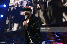 A. J. McLean of Backstreet Boys performs onstage during 103.5 KISS FM's Jingle Ball 2016 at Allstate Arena on December 14, 2016 in Rosemont, Illinois.