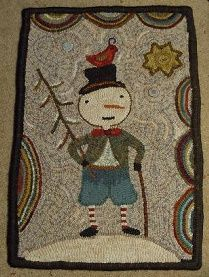 Star Rug Company hooked by Sue Milanak Rug Hooking Designs, Rug Hooking Patterns, Christmas Rugs, Punch Needle Patterns, Rug Inspiration, Hand Hooked Rugs, Rug Company, Wool Art, Penny Rugs