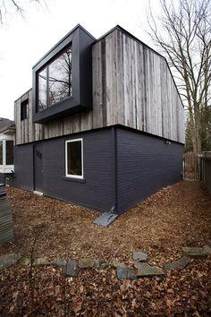 Exterior barnwood siding