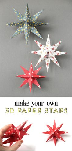 Learn how to make diy paper star christmas decorations diy papercrafts craft christmas holidays christmasdecorations holidaydecorations gatheringbeauty 496521927665792913 Diy Christmas Star, Christmas Origami, Simple Christmas, Christmas Holidays, Christmas Ideas, Diy Christmas Projects, Christmas Thoughts, Christmas Images, Homemade Christmas