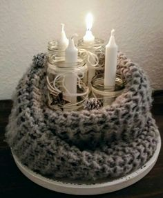 Advent, Birthday Candles, Wraps, Gift Wrapping, Gifts, Winter Christmas, Christmas Decor, Basteln, Paper Wrapping