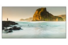 Piha Beach - Auckland, New Zealand. Awesome beach, the setting for The Piano. Wonderful Places, Beautiful Places, Beautiful People, Places To Travel, Places To Go, Paradise Pictures, New Zealand Beach, The Great Escape, Sight & Sound